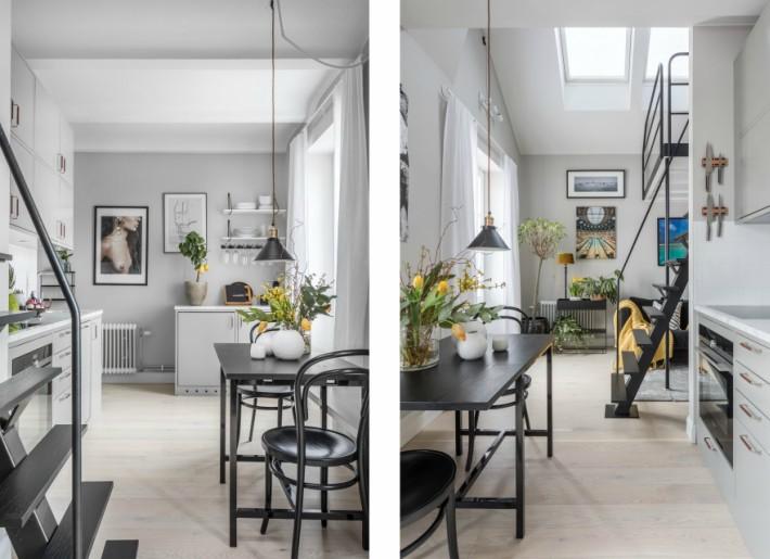 Los techos altos la clave para los mini-apartamentos