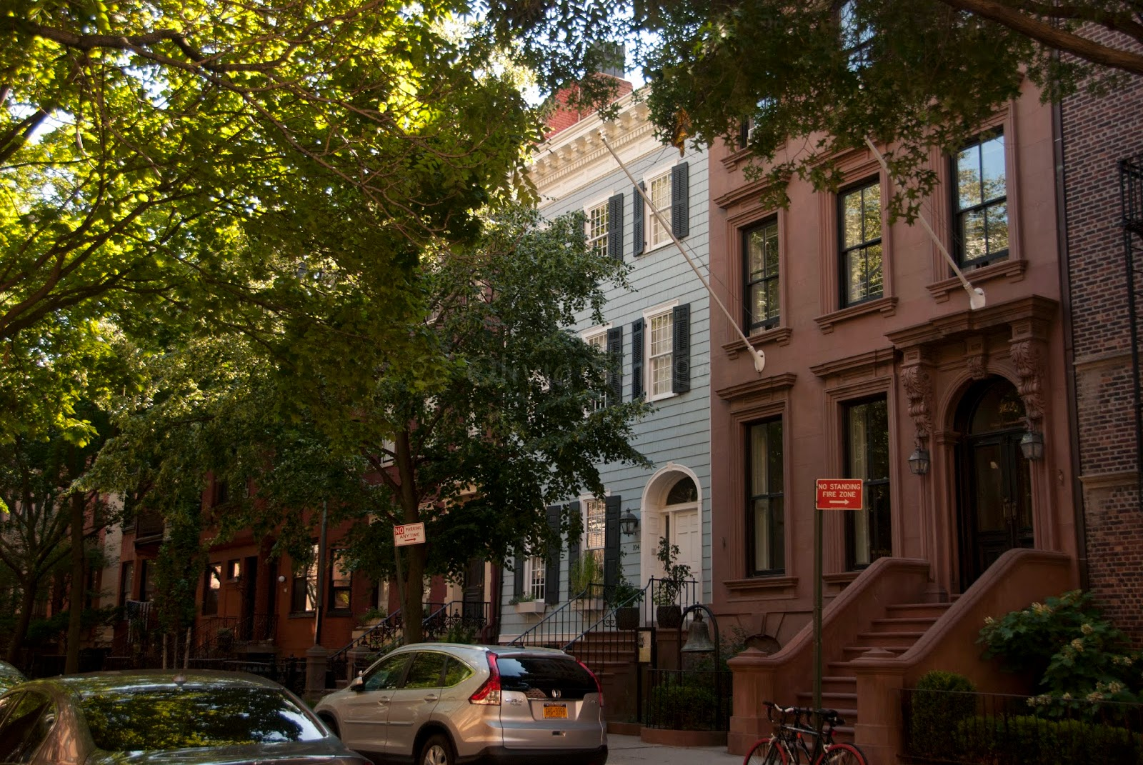 brooklyn heights, new york city, usa