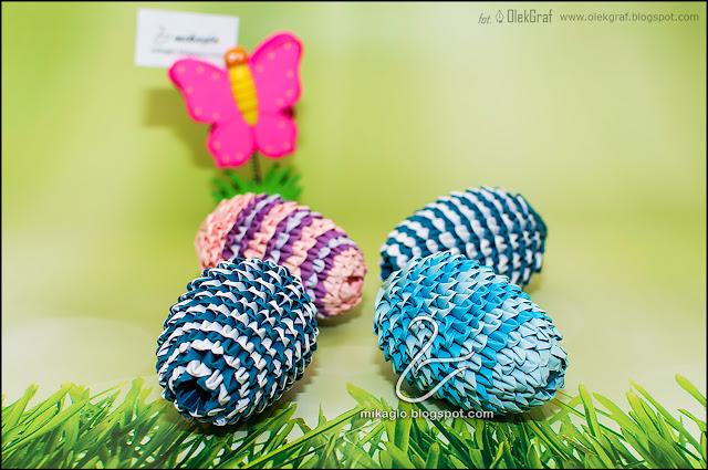 543. Jajka Wielkanocne z origami / 3d origami Easter eggs