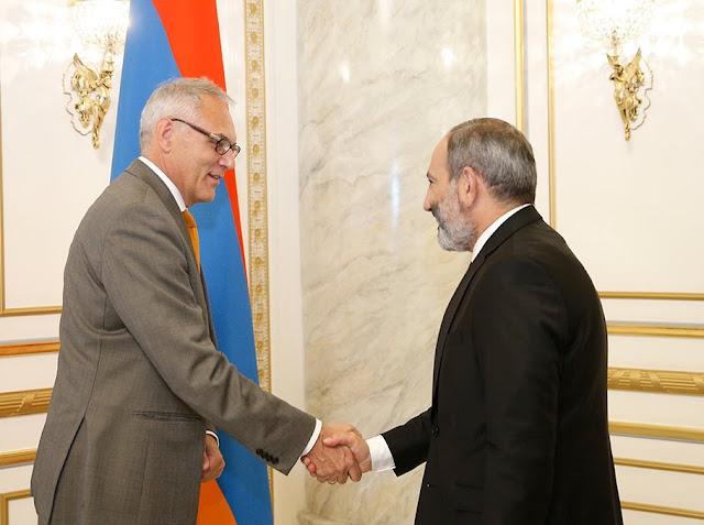 Armenia quiere impulsar las relaciones con Alemania