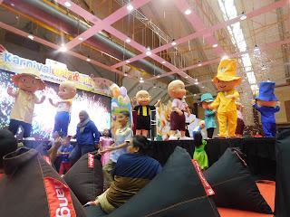 Kemeriahan Luar Biasa di Karnival Upin & Ipin 2017