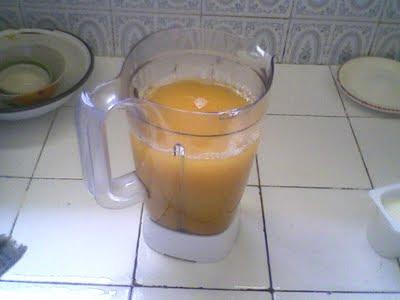 طريقة تحضير عصير الكرعة الحمراء بحال المانكا