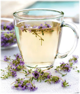 If you suffer from insomnia and irritability, try a tea of thyme.