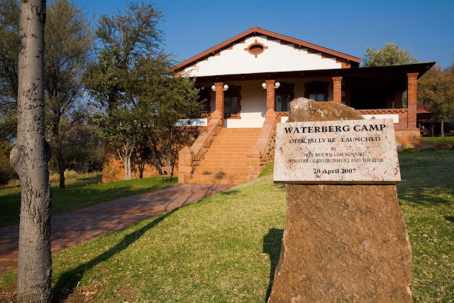 Bernabe de la Bat Camp Waterberg Park Namibia