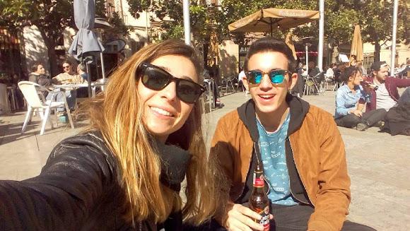 Placa del Sol in Gracia, Barcelona