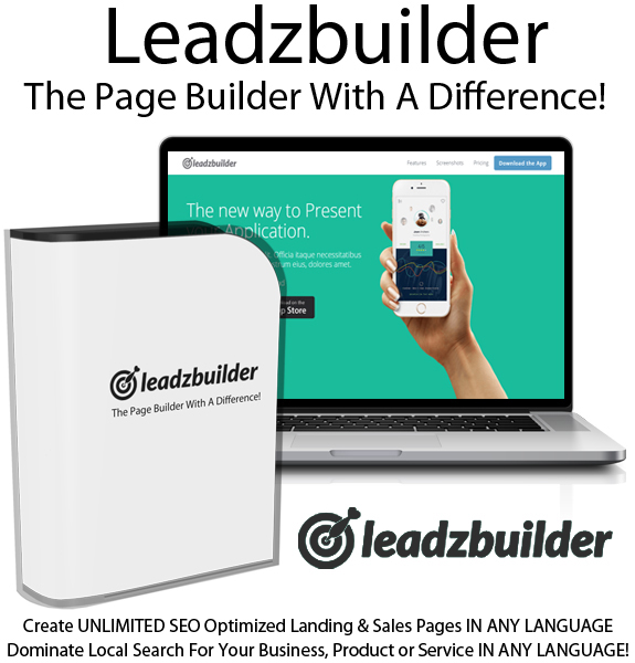 [GIVEAWAY] Leadz Builder [SEO Optimized Marketing & Landing Pages]