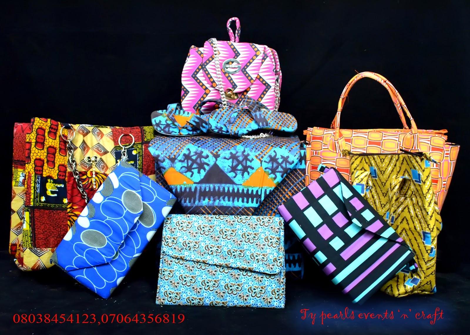Ankara crafts-typearls
