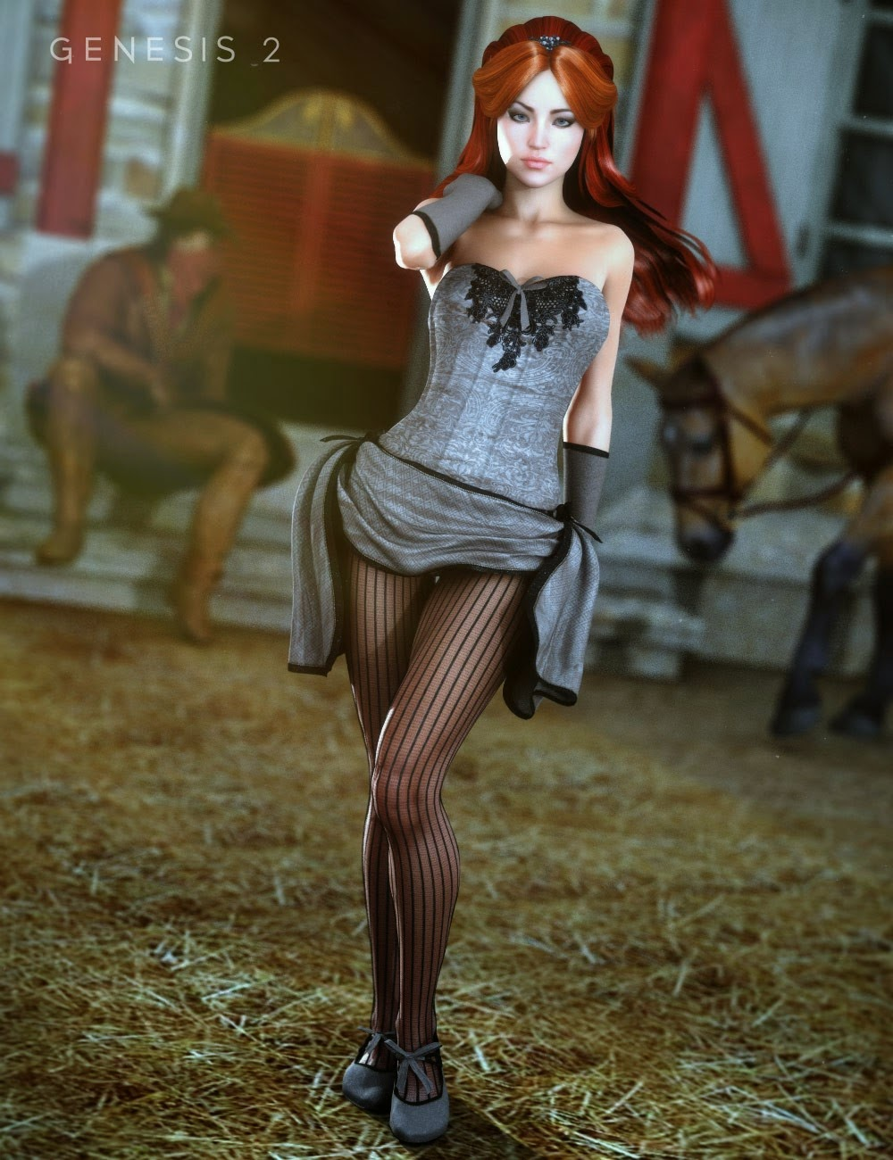 Daz3d For Genesis 2 female