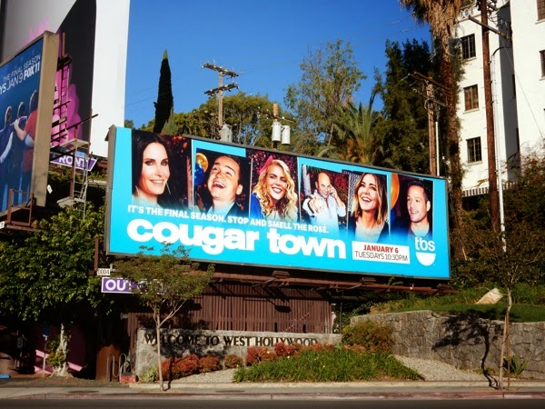 Cougar Town final season 6 billboard