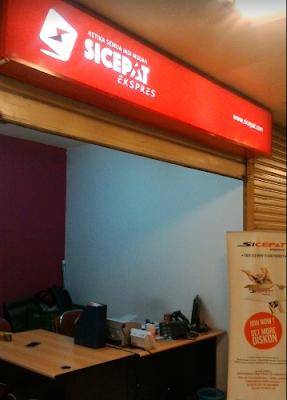 Alamat agen SiCepat Ekspres di Jakarta Selatan.