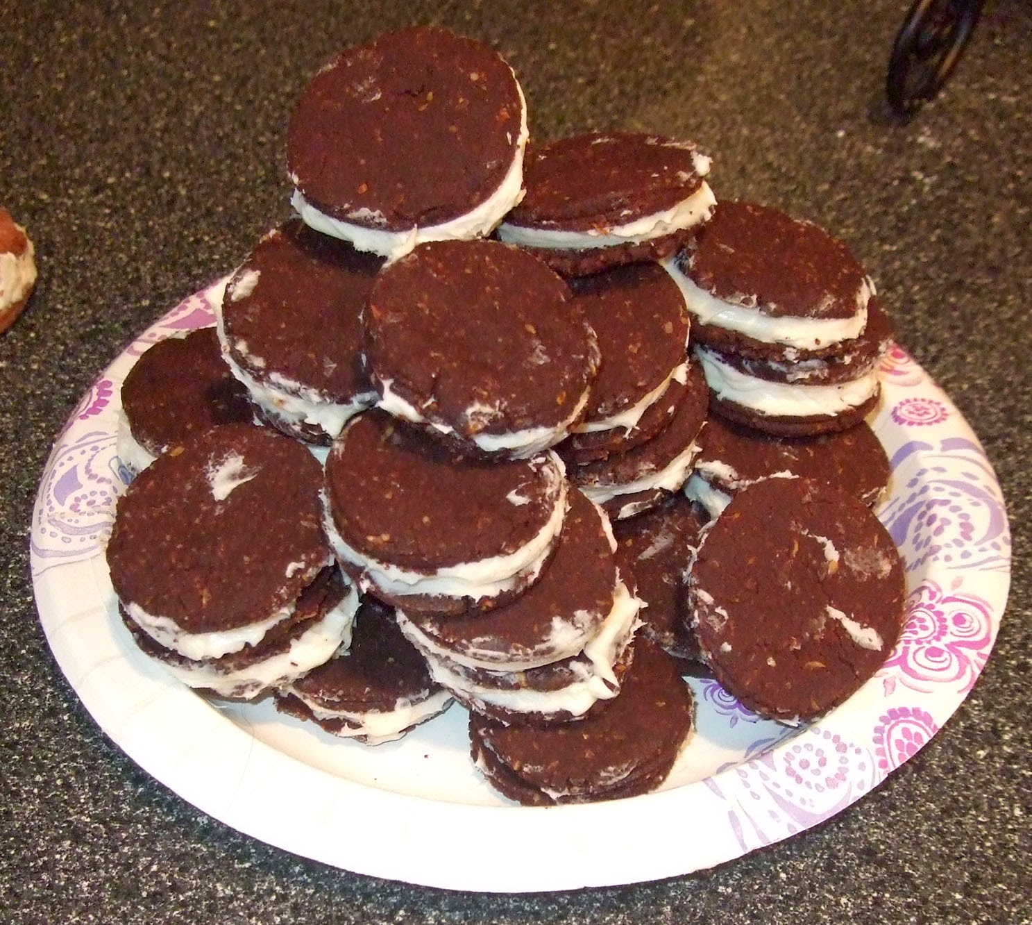 Low carb Oreo cookies.