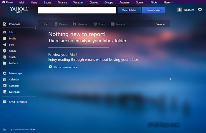 Yahoo mail is revamped and some new features are also introduced in it to make it more useful.