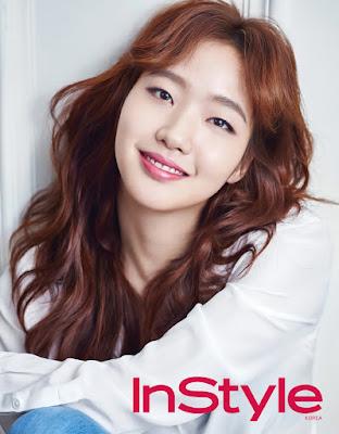 Kim Go Eun - InStyle Magazine February Issue 2016