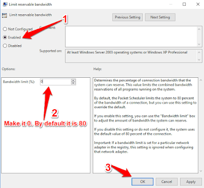 cara meningkatkan kecepatan internet windows  Cara meningkatkan kecepatan internet Windows 10