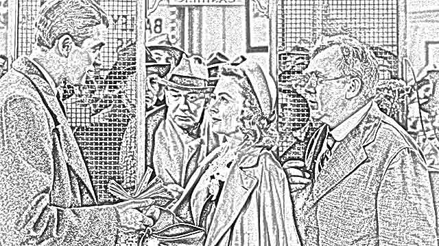 """The Holiday Site: """"It's a Wonderful Life"""" Coloring Pages"""