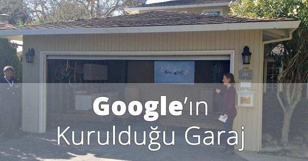 Google'ın Kurulduğu Garaj 2