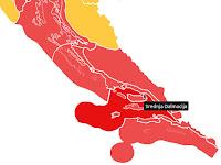 crveni meteoalarm slike otok Brač Online
