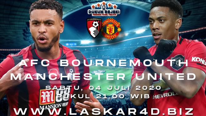 Prediksi Bola Manchester United vs AFC Bournemouth Sabtu 04 Juli 2020