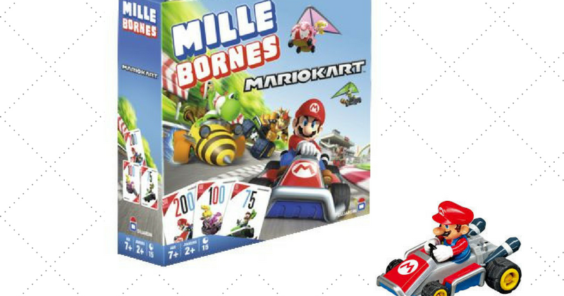 mille bornes mario kart jeux. Black Bedroom Furniture Sets. Home Design Ideas