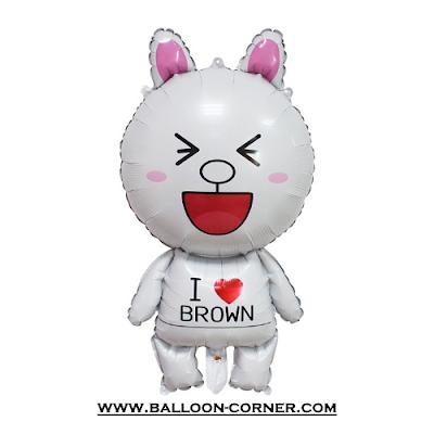 Balon Foil Karakter LINE (Cony)