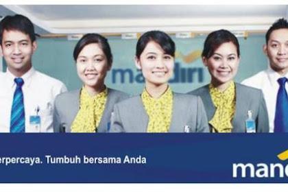 Lowongan Kerja Riau : PT. Bank Mandiri (Persero) Tbk April 2017