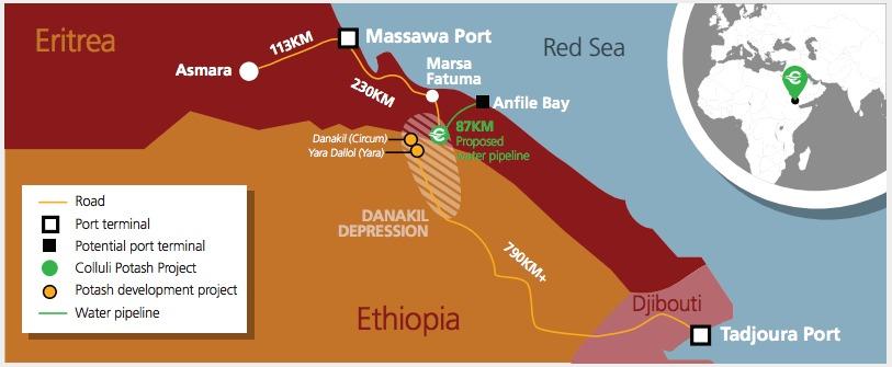 <Danakali&rsquo;s potash project could be a game changer for Eritrea &mdash; UN