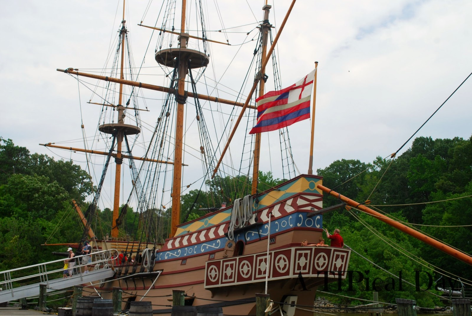 A Tipical Day Visiting Jamestown Settlement With Kids