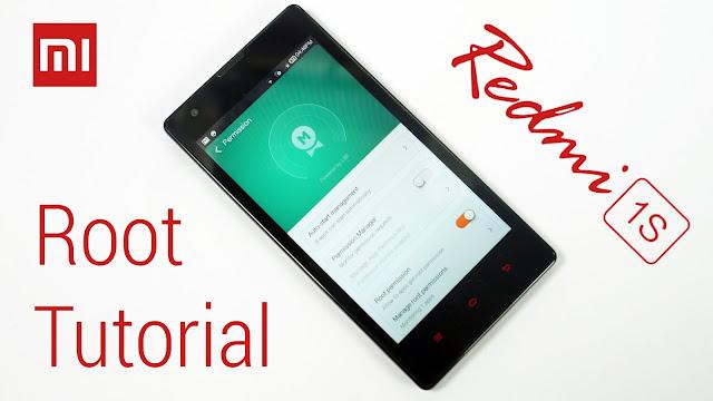 Xiaomi Redmi 1s Kamu Belum Root? Buang Saja Ke Laut: Ini tutorial Mudah Root Redmi 1s V7.2.3.0 100% Berhasil