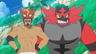 Pokemon Sol y Luna Capitulo 63 Temporada 20 Arde con pasión Litten, abajo con Incineroar