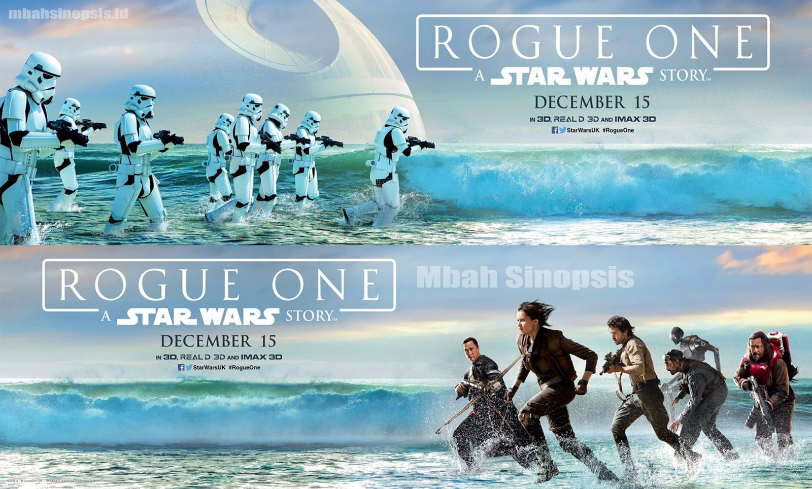 Sinopsis Film Rogue One A Star Wars Story 2016