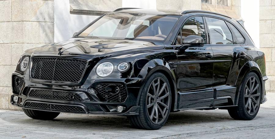 マンソリーがベントレーの高級SUV「ベンテイガ」のカスタムを公開。(画像:mansory公式サイトより)