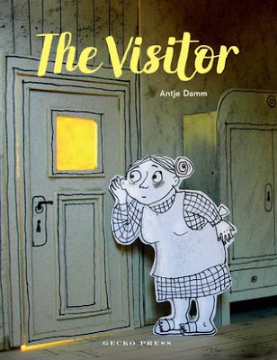 Book Cover for The Visitor by Antje Damm
