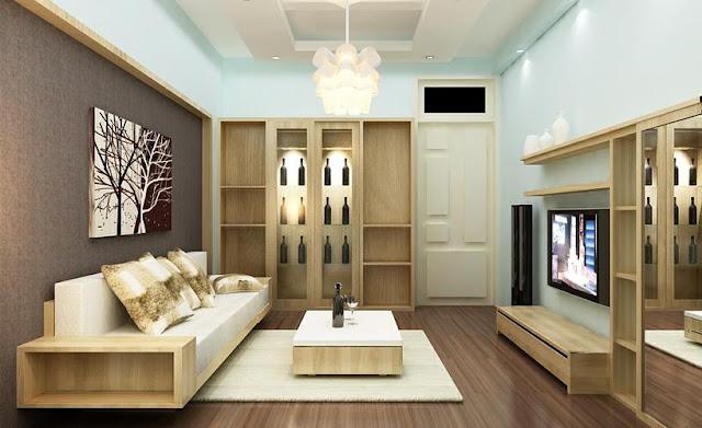 Phòng khách căn hộ