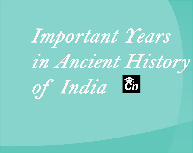 Important Years in Ancient History of India, Careerneeti.com Logo