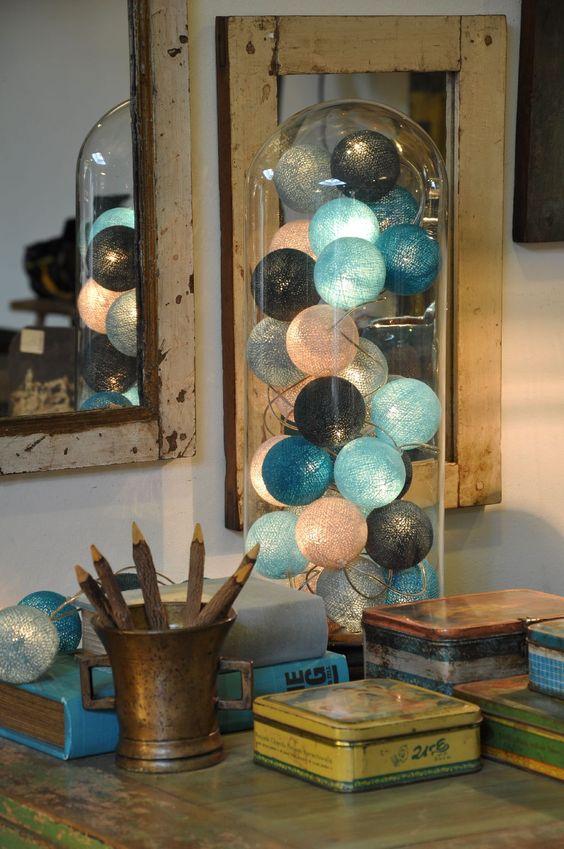 Marta wiec aw design cotton ball lights magiczne inspiruj ce wiat o - Ad decoratie binnen ...
