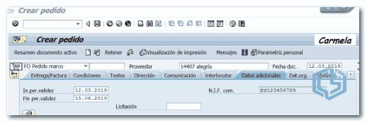Plan de facturación parcial - Consultoria-SAP