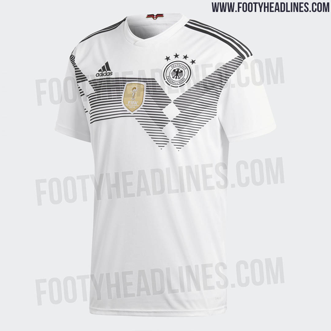 germany 2018 world cup home kit released footy headlines. Black Bedroom Furniture Sets. Home Design Ideas