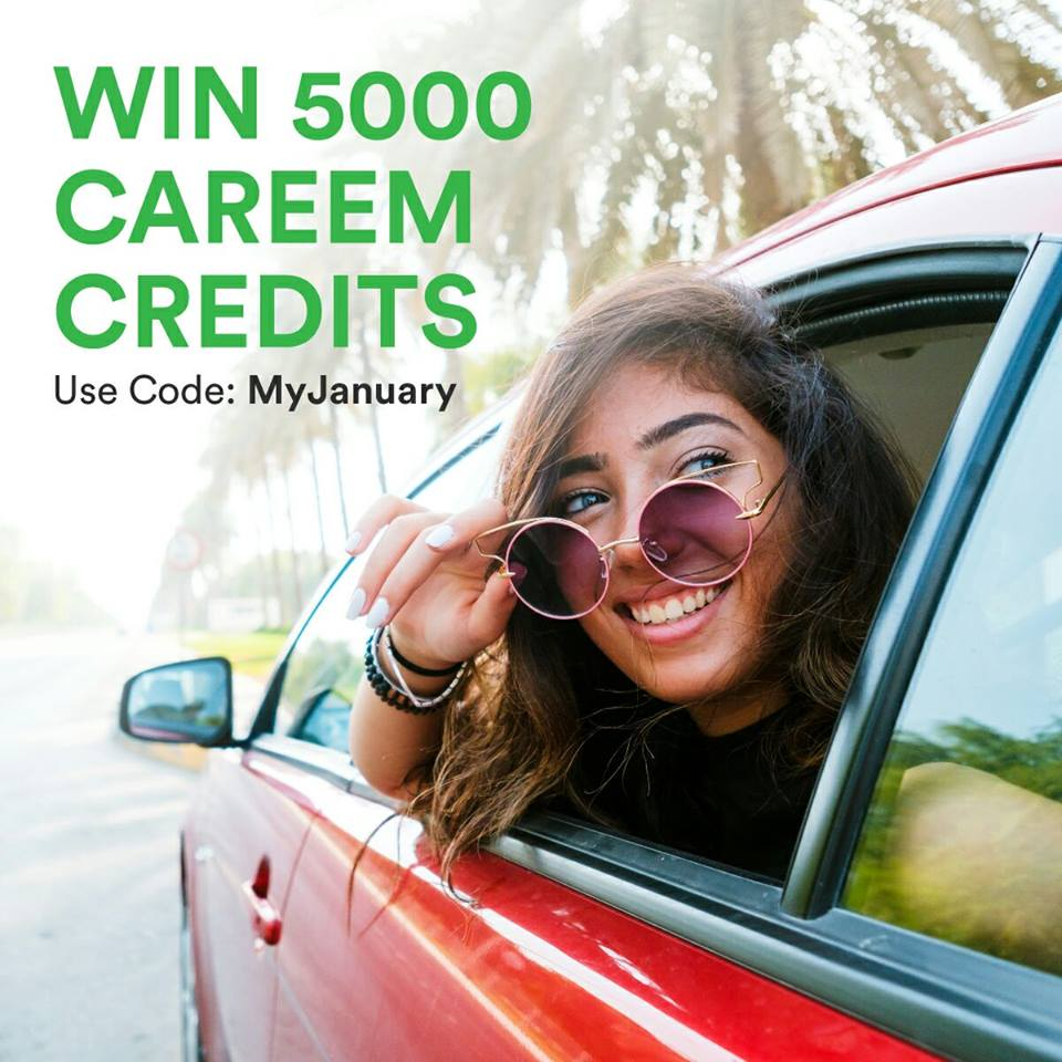Careem & Uber Promocodes: Win 5000 Careem Credit