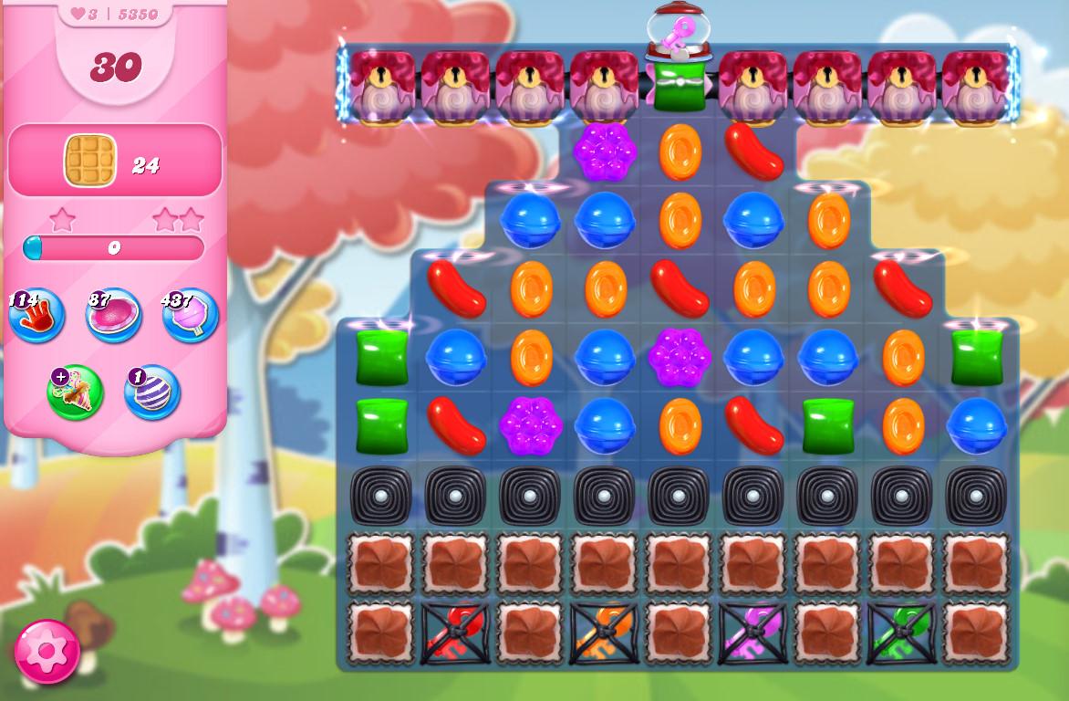 Candy Crush Saga level 5350