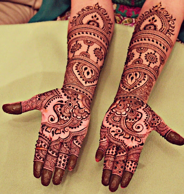 Bridal Mehandi Designs for Hands 4