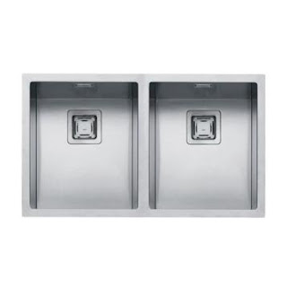 Modecor Kitchen Sinks Kitchen Sinks Top Mount Double Bowl