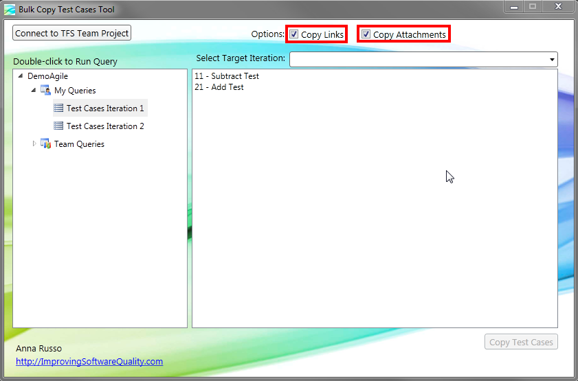 Bulk Copy Test Cases Tool for Microsoft Test Manager & TFS
