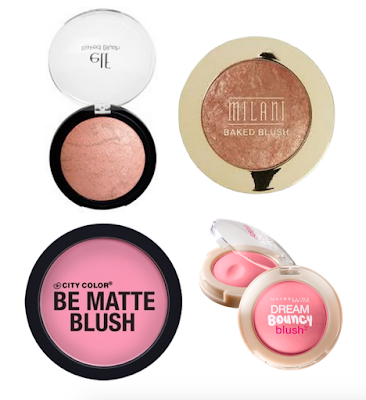 Best Drugstore Makeup blushes