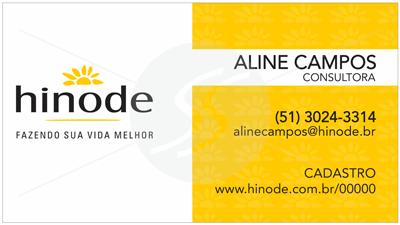 cartao de visita hinode sp - Cartões de Visita Hinode