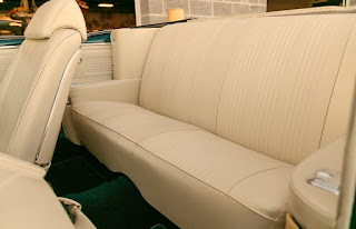 1967 Pontiac LeMans GTO Convertible Seat Rear