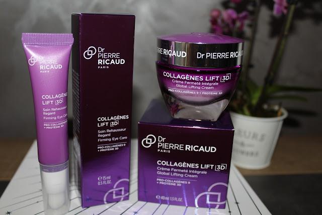 J'ai testé la gamme Collagènes Lift 3D de Pierre Ricaud + CONCOURS