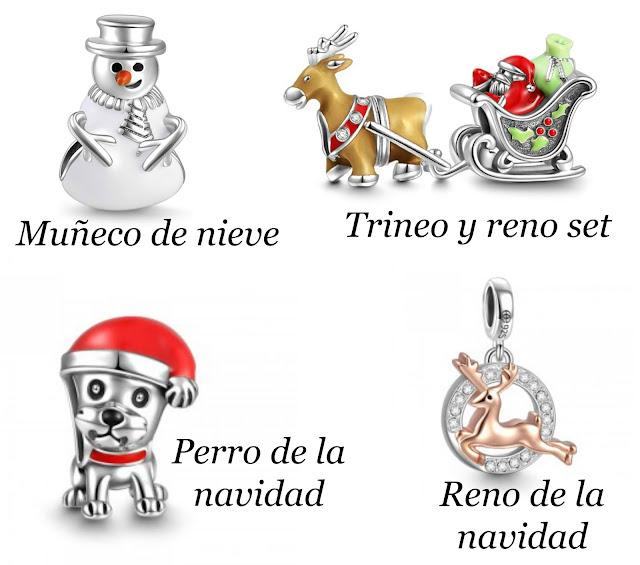 charms navideños