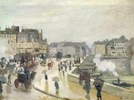 Le Pont-Neuf de Monet