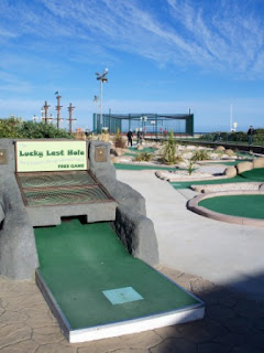 Pirate Adventure Golf course in Hastings, East Sussex