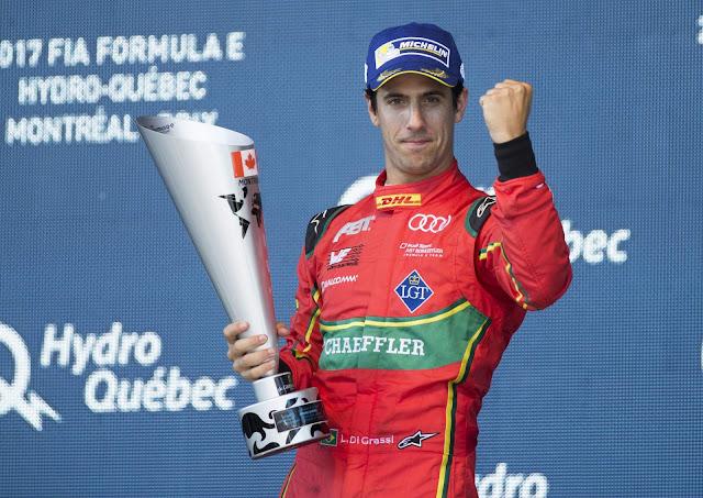 Brasileiro Lucas di Grassi é campeão da F-E com Audi